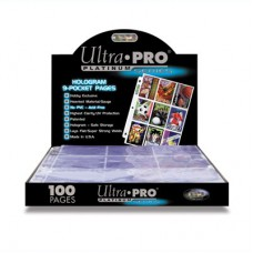 Ultra Pro Platinum 9-Pocket Pages 100