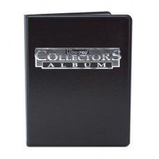 Ultra Pro 4-Pocket Portfolio Collectors Black