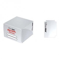 Ultra Pro Pro-Dual Deckbox White