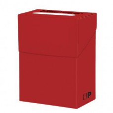 Ultra Pro Deck Box Solid - Red