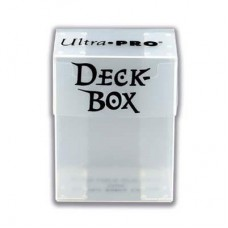 Ultra Pro Deck Box Solid - Transparent