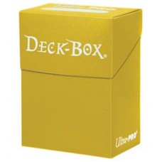 Ultra Pro Deck Box Solid - Yellow