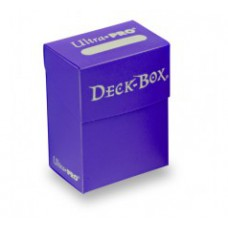 Ultra Pro Deck Box Solid - Purple