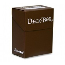 Ultra Pro Deck Box Solid - Brown