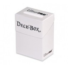 Ultra Pro Deck Box Solid - White