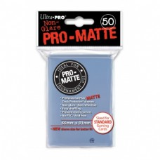 Ultra Pro Deck Protectors Pro-Matte 50 - Clear