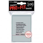 Ultra Pro Pro-Fit Standard Size Deck Protectors 100