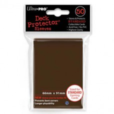 Ultra Pro Deck Protectors Standard 50 - Brown