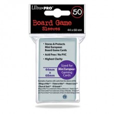 Ultra Pro Boardgame Sleeves 44x68mm - 50