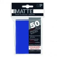 Ultra Pro Deck Protectors Pro-Matte 50 - Blue