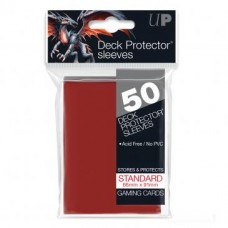 Ultra Pro Deck Protectors Standard 50 - Red