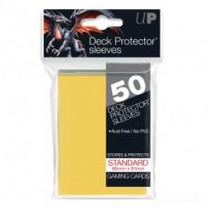 Ultra Pro Deck Protectors Standard 50 - Yellow