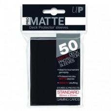 Ultra Pro Deck Protectors Pro-Matte 50 - Black