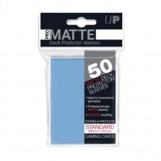 Ultra Pro Deck Protectors Pro-Matte 50 - Light Blue