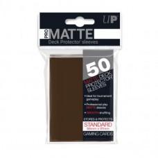 Ultra Pro Deck Protectors Pro-Matte 50 - Brown