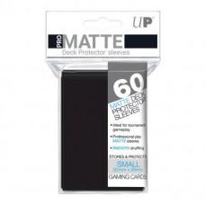 Ultra Pro Deck Protectors Small Pro-Matte 60 - Black