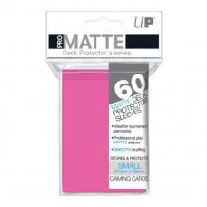 Ultra Pro Deck Protectors Small Pro-Matte 60 - Pink