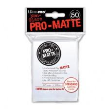 Ultra Pro Deck Protectors Pro-Matte 50 - White