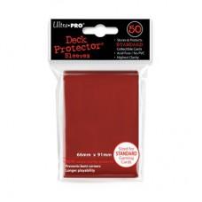 Ultra Pro Deck Protectors Standard 50 - Red