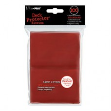 Ultra Pro Deck Protectors Standard 100 - Red