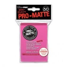 Ultra Pro Deck Protectors Pro-Matte 50 - Bright Pink