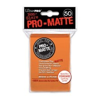 Ultra Pro Deck Protectors Pro-Matte 50 - Orange