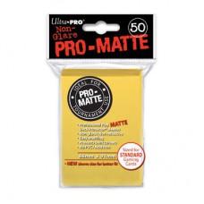 Ultra Pro Deck Protectors Pro-Matte 50 - Yellow