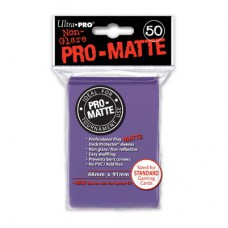 Ultra Pro Deck Protectors Pro-Matte 50 - Purple