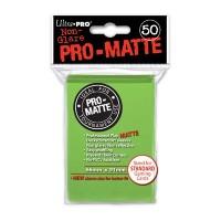 Ultra Pro Deck Protectors Pro-Matte 50 - Lime Green