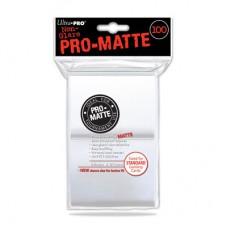Ultra Pro Pro-Matte Deck Protectors 100 - White