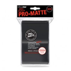 Ultra Pro Pro-Matte Deck Protectors 100 - Black