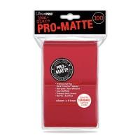 Ultra Pro Pro-Matte Deck Protectors 100 - Red