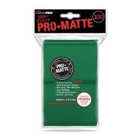 Ultra Pro Pro-Matte Deck Protectors 100 - Green