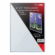 Ultra Pro 25 Toploaders Oversized 15x23cm